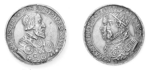 Ferdinando I, Massimiliano II,