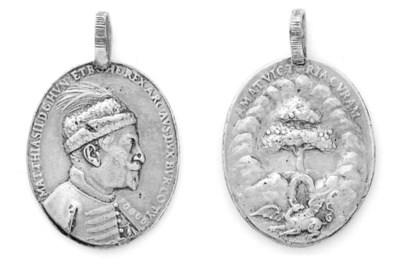 Mathias II, medaglia ovale in