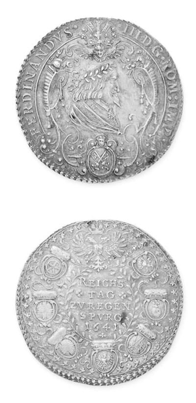 Ferdinando III, Reichstag-meda