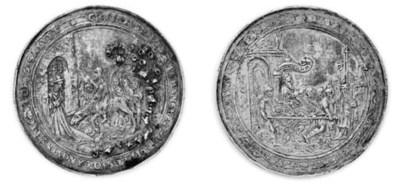 Pragemedaille in argento, 61mm
