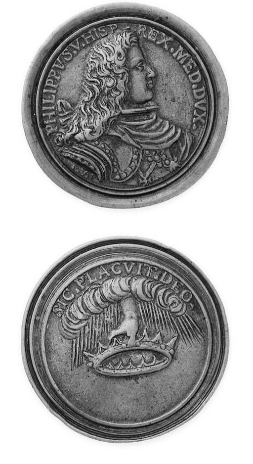 Filippo V, bronzo, 48mm., opus