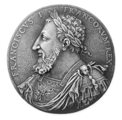 Francesco I, bronzo, uniface,