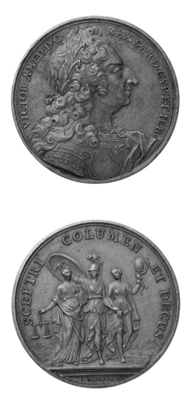 Louis XIV, bronzo, 40mm., opus