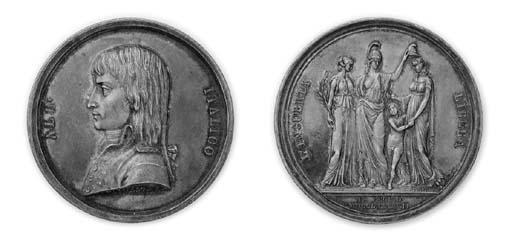 Napoleone in Italia, argento,