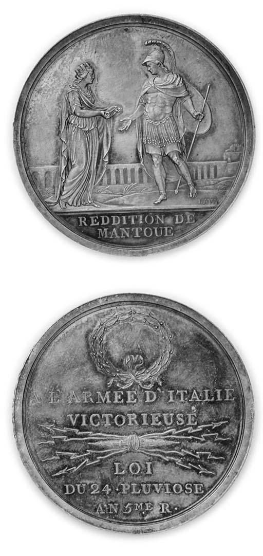 Presa di Mantova, argento, 42m