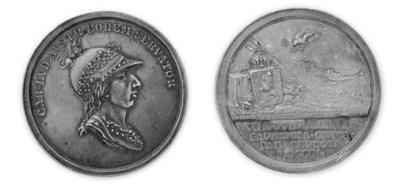 Pace di Lunéville, argento, 42