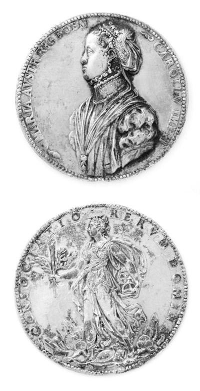 Maria di Austria, medaglia dor