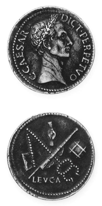 Giulio Cesare, 35mm. testa a d