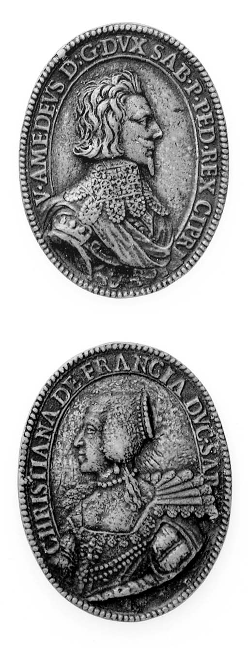 Vittorio Amedeo I e Cristina d