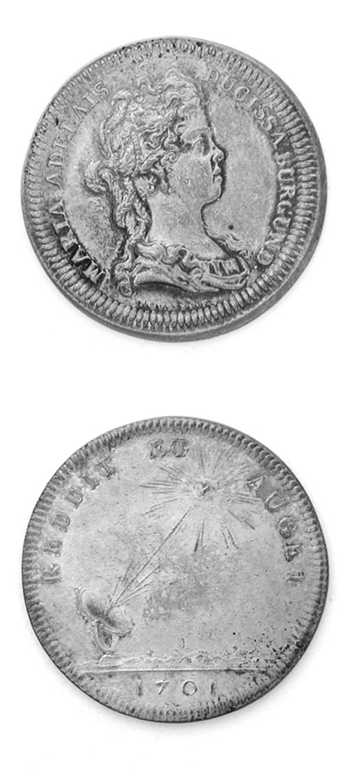 Maria Adelaide, argento, 30mm.