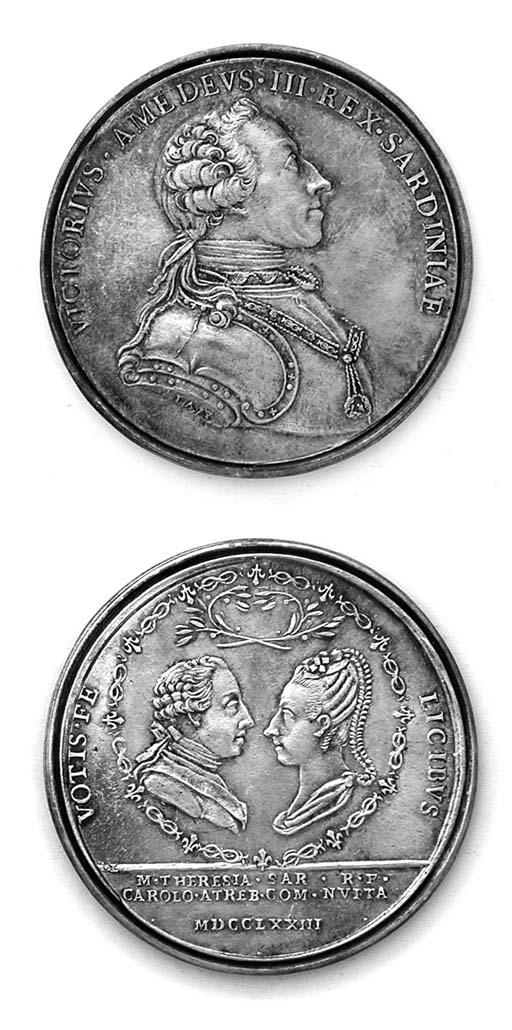 Vittorio Amedeo III, (1773-96)