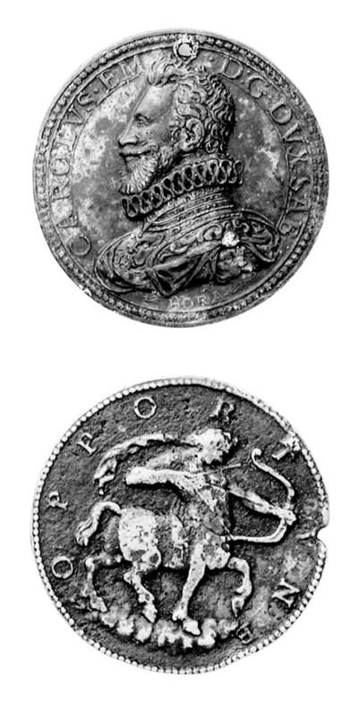Carlo Emanuele I, bronzo, 43mm