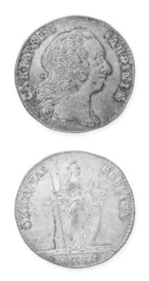 Carlo Emanuele III, argento, 2