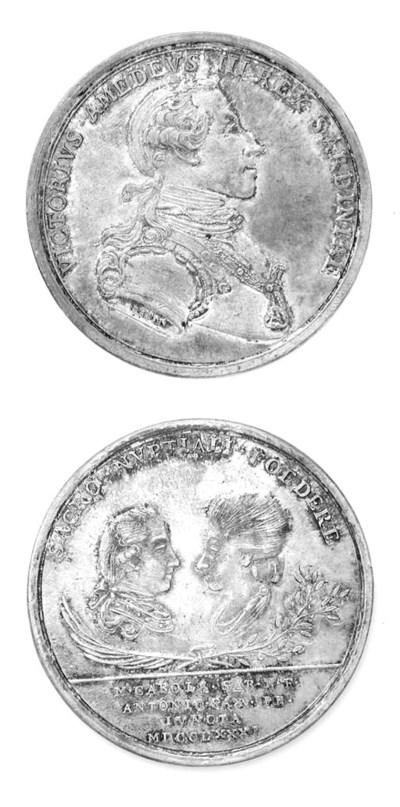 Vittorio Amedeo III, argento,