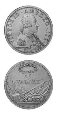 Vittorio Amedeo III, bronzo, 3