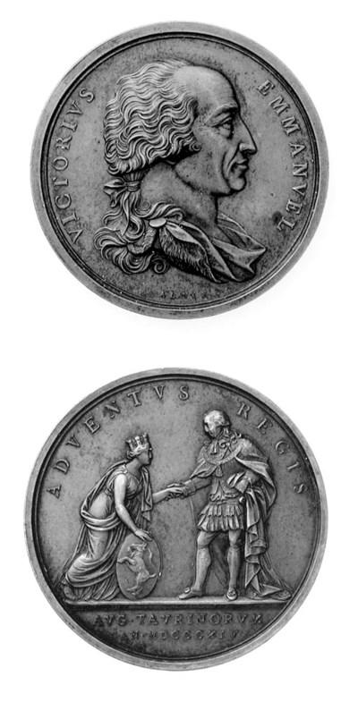 Vittorio Emanuele I, bronzo, 5