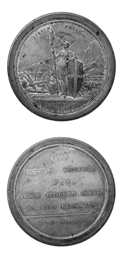 Vittorio Emanuele I, bronzo, 4