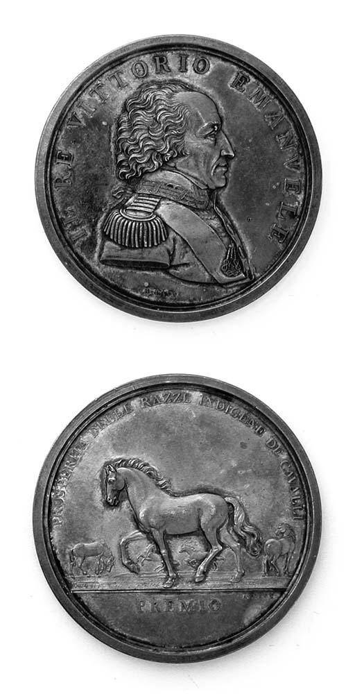 Vittorio Emanuele I, argento,