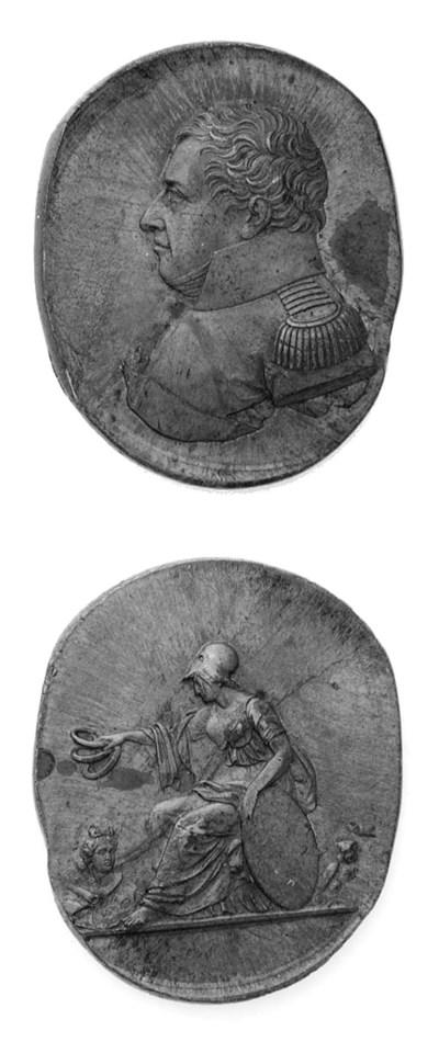 Carlo Felice, prova in bronzo,