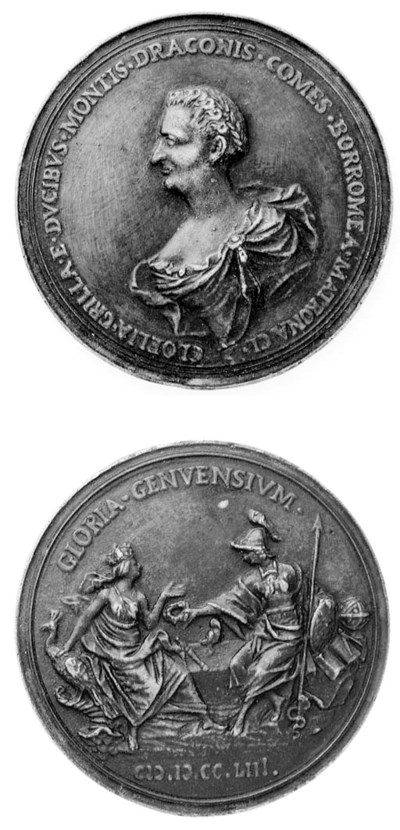 Clelia Grillo Borromeo (m.1777