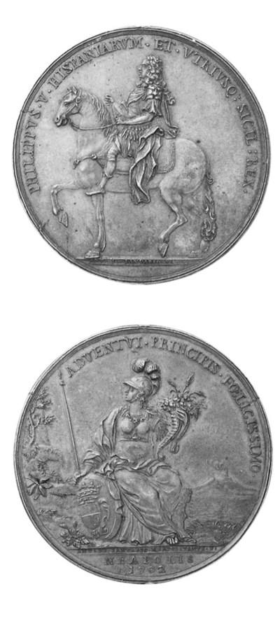 Filippo V, visita a Napoli, 17