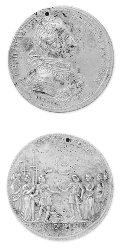 Ferdinando IV, Per l'arrivo de
