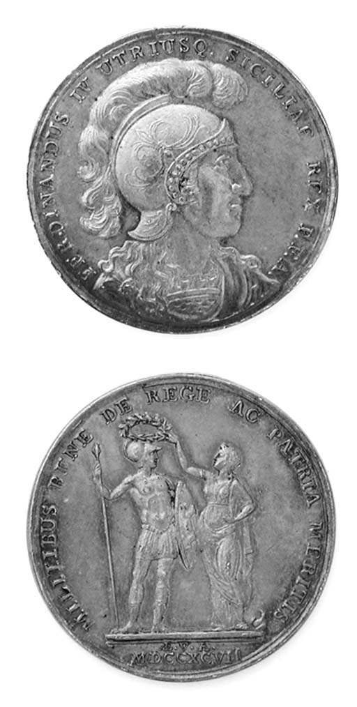 Ferdinando IV, Per la Spedizio
