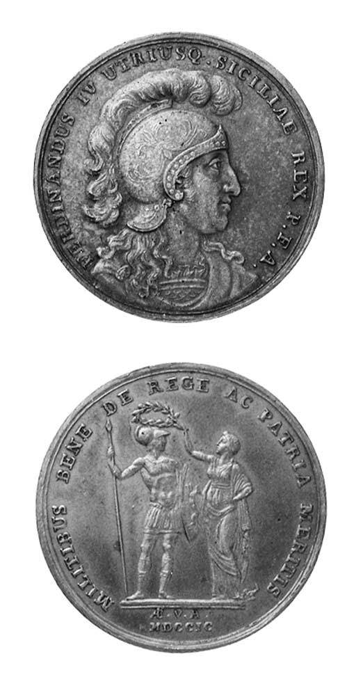 Ferdinando IV, Per le Milizie