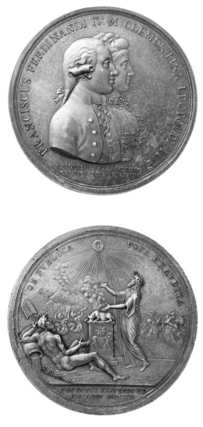 Ferdinando IV, Per l'arrivo a