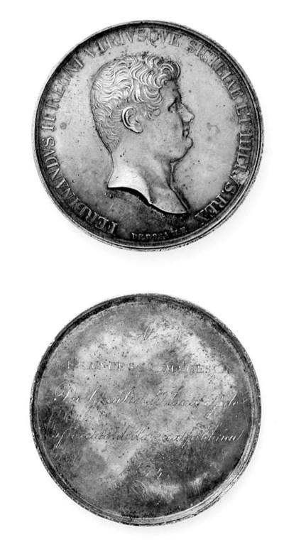 Ferdinando II, premio in argen