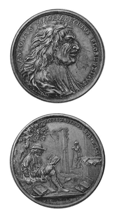 Antonio Magliabechi, bronzo, 4