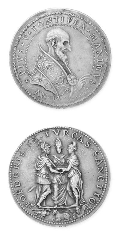 Pio V, Ghislieri, Lega contro
