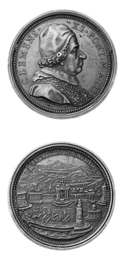 Clemente XI, Albani, bronzo, 5