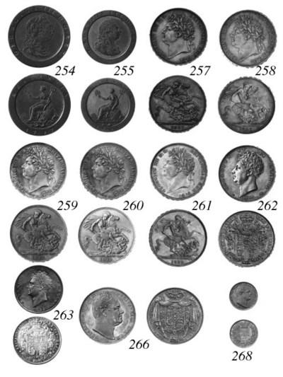 George III, Penny, 1797, simil