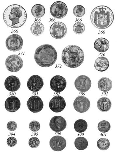 George IV, Proof Set, 1826, Fi