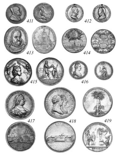 Joseph II and Maria Theresia,