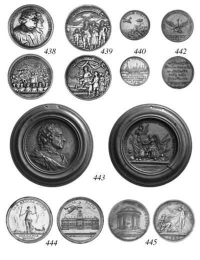 Peace of Dresden 1745, silver