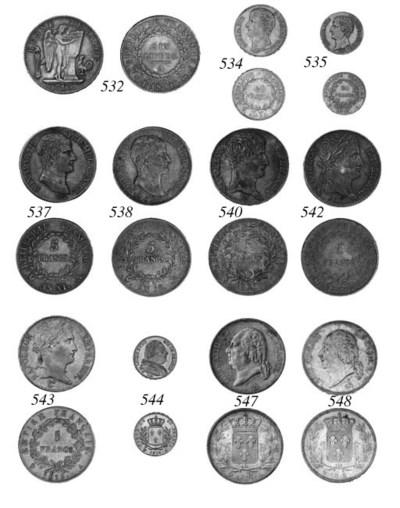 Napoleon as Emperor, 5-Francs,