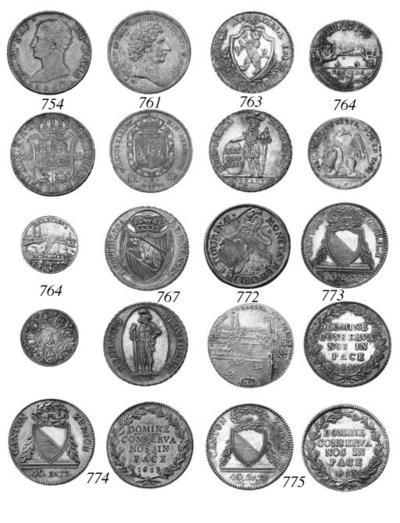 Zurich, Taler, 1761, lion, rev