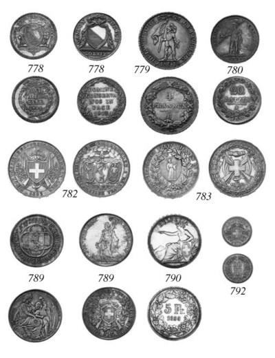 20-Franken, pattern, 1871, arm