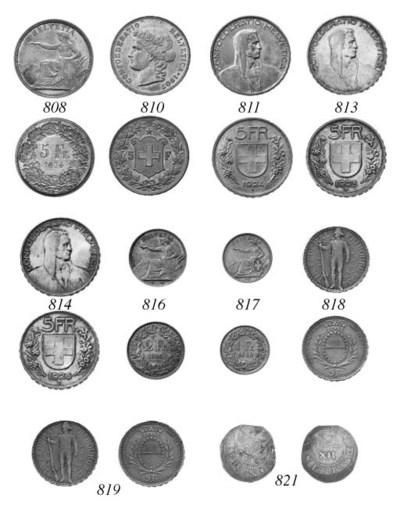 1-Franken, 1860 B, similar des
