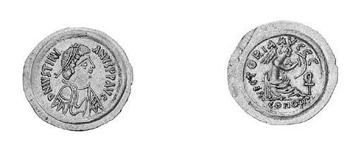 Semissis, Ravenna, diademed, d