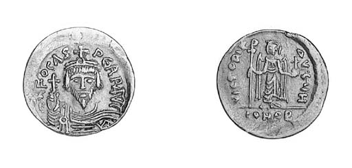 Solidus, as previous coin but