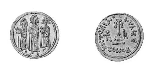 Solidus, indiction 12 (638/39)