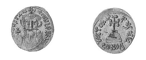Solidus, a similar coin but em