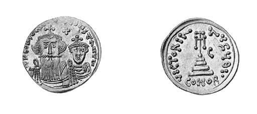 Solidus, Sicily, two crowned b
