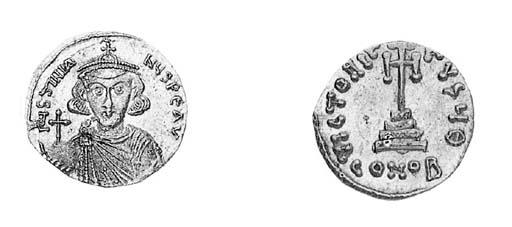Solidus, a similar coin but  o