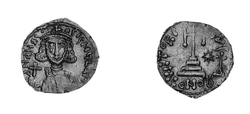 Solidus, Rome, obverse as prev