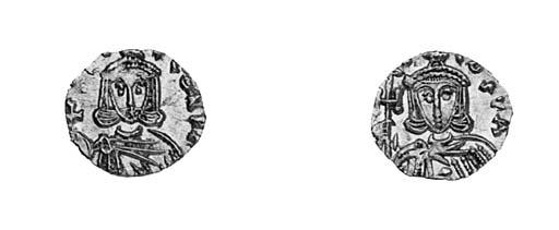 Tremissis, Sicily, a similar c