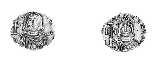 Tremissis, Sicily, facing bust